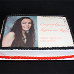 Milford High School Graduation Cake