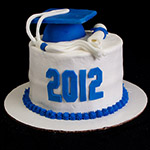 Kentucky Graduation Cake
