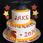 Turpin High School Graduation Cake