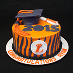 Loveland High School Graduation Cake