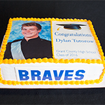 Grant County High School Graduation Cake