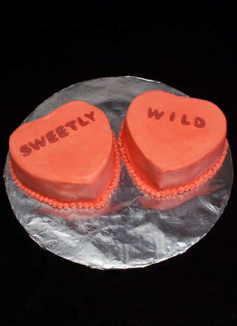 Sweet Heart cakes